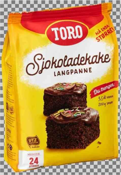 Bilde av Toro langpanne sjokoladekake.