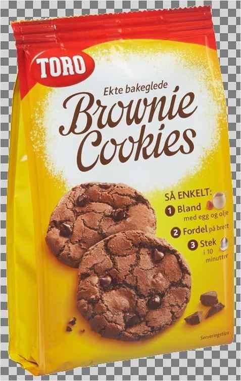 Bilde av Toro Brownie cookies.