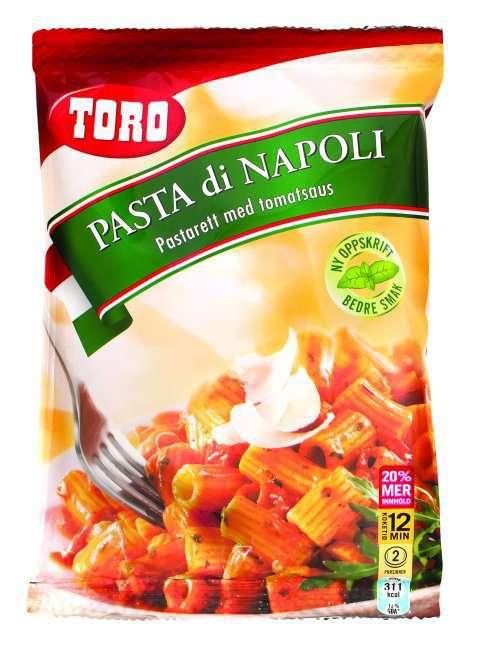 Bilde av Toro Pasta di Napoli tilberedt.