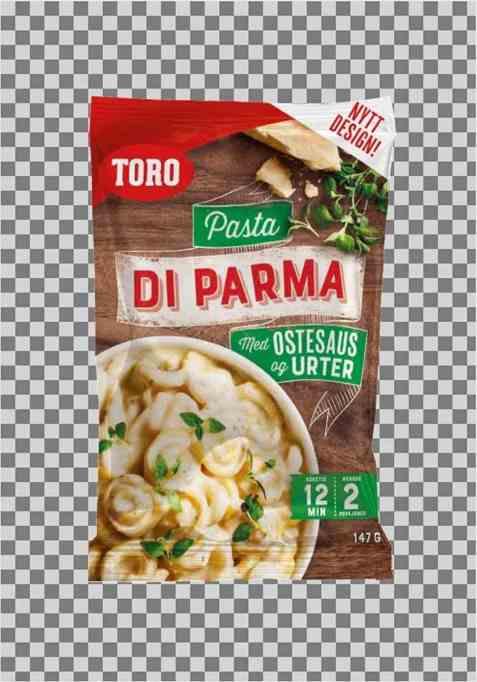 Bilde av Toro Pasta di Parma tilberedt.
