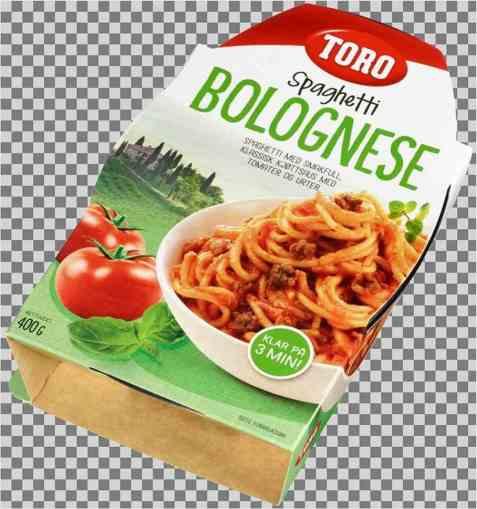 Bilde av Toro spagetti bolognese ferdig.
