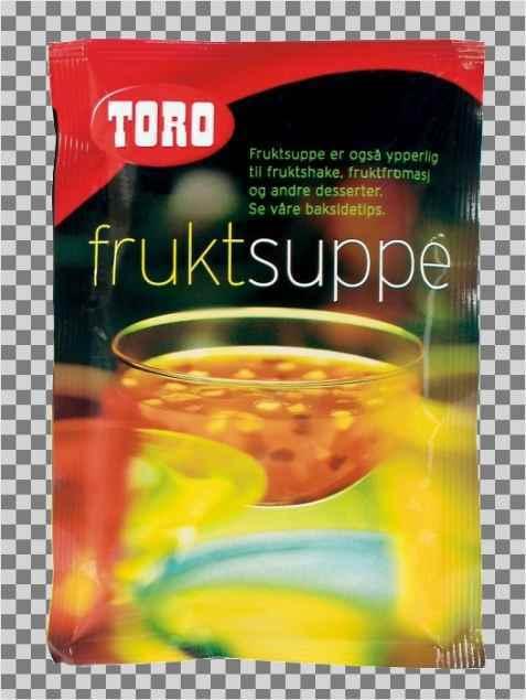 Bilde av Toro fruktsuppe tilberedt.