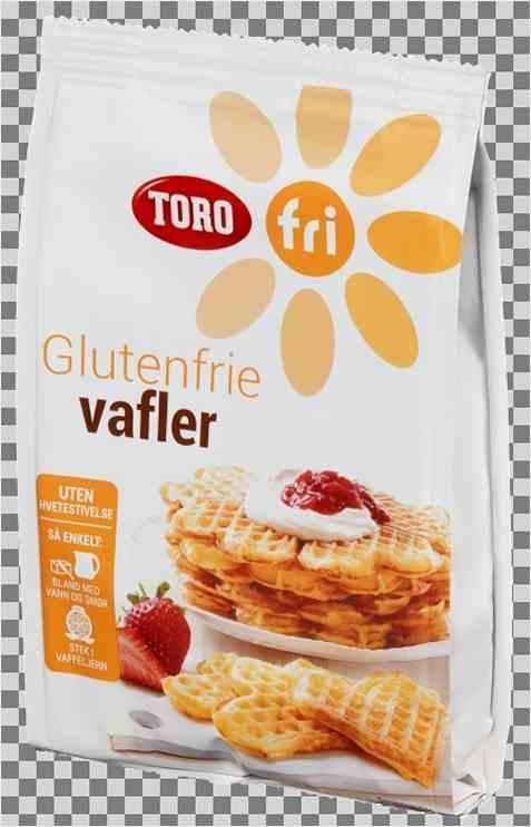 Bilde av Vafler, glutenfrie, av pulver, Toro.