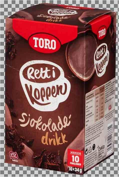 Bilde av Toro Rett i Koppen Sjokoladedrikk.
