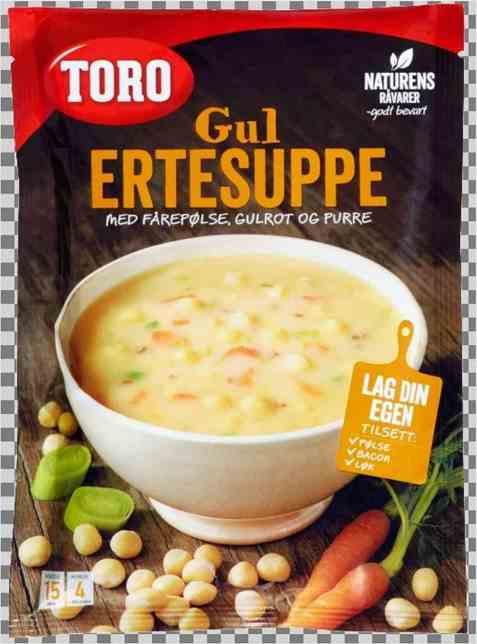 Bilde av Toro gul ertesuppe.