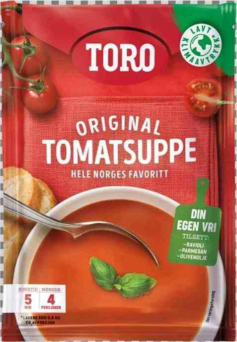 Bilde av Toro tomatsuppe.