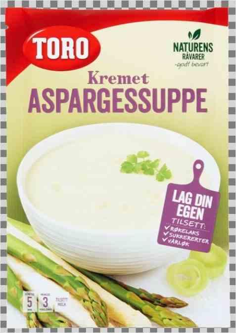 Bilde av Toro kremet aspargessuppe.