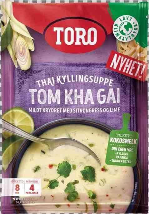 Bilde av Toro thailandsk kyllingsuppe Tom Kha Gai.