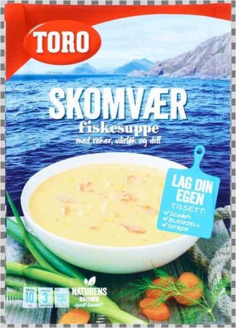 Bilde av Toro skomvær fiskesuppe.