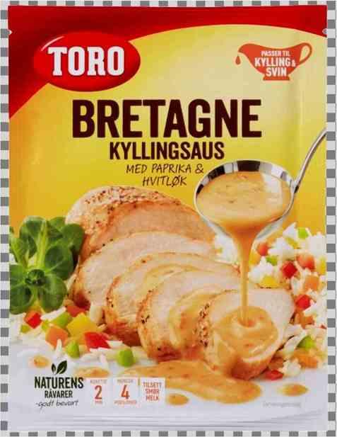 Bilde av Toro bretagne kyllingsaus med paprika og hvitløk.
