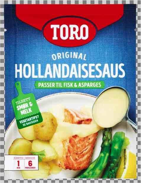 Bilde av Toro hollandaisesaus tilberedt.