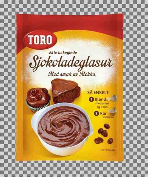Bilde av Toro sjokoladeglasur.