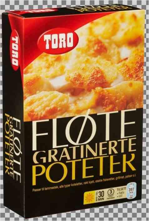 Bilde av Toro fløtegratinerte poteter.