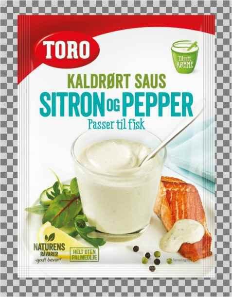 Bilde av Toro kaldrørt sitron og peppersaus.