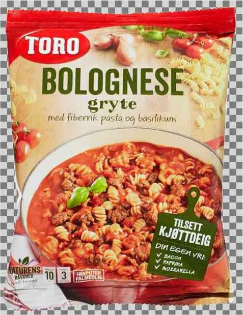 Bilde av Toro bolognese gryte tillagd.