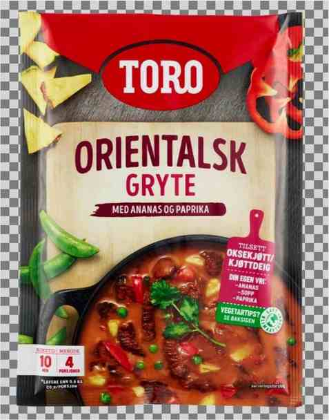 Bilde av Toro orientalsk gryte.