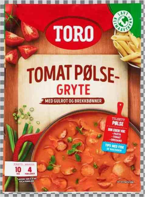 Bilde av Toro tomat pølsegryte.