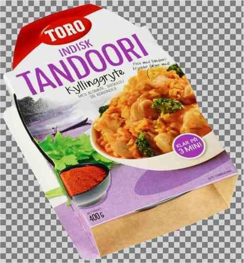 Bilde av Toro tandoori kyllinggryte ferdig.