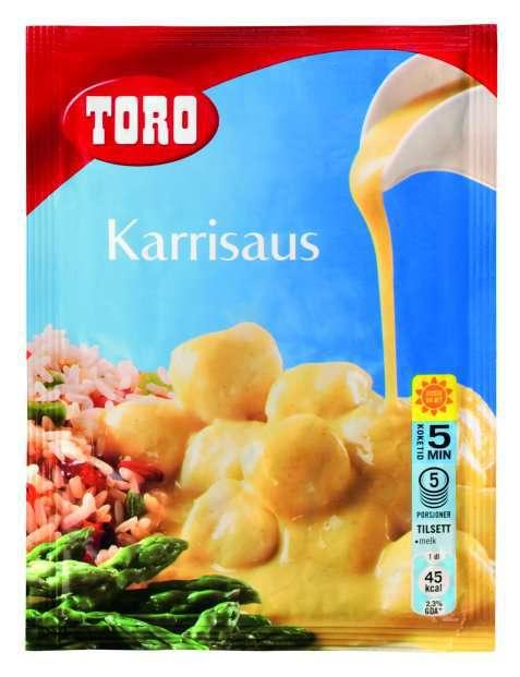 Bilde av Toro karrisaus tilberedt.