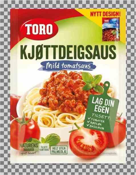 Bilde av Toro kjøttdeigsaus tilberedt.