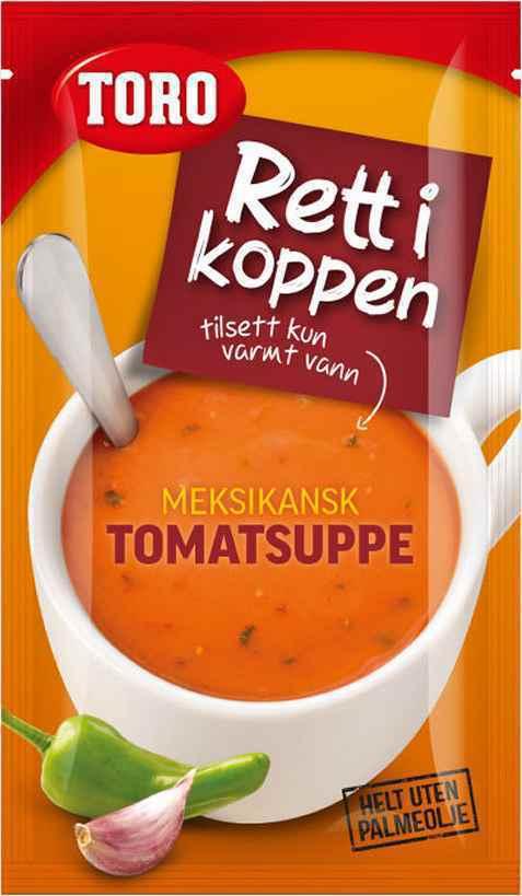Bilde av Toro Rett i Koppen meksikansk tomatsuppe.