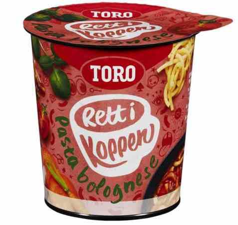 Bilde av Toro Rett i Koppen Pasta Bolognese.