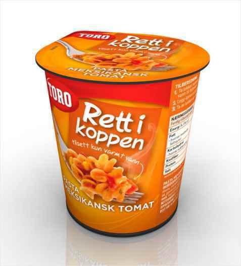 Bilde av Toro Rett i Koppen Pasta meksikansk tomat.