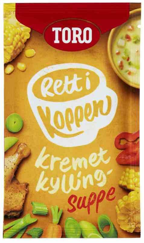 Bilde av Toro Rett i Koppen Kremet kyllingsuppe.
