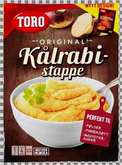Bilde av Toro kålrabistappe.