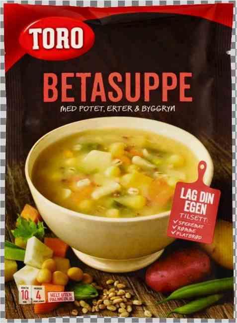 Bilde av Toro betasuppe tilberedt.