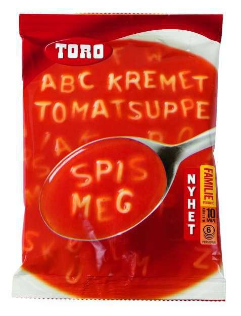 Bilde av Toro ABC Kremet tomatsuppe tilberedt.