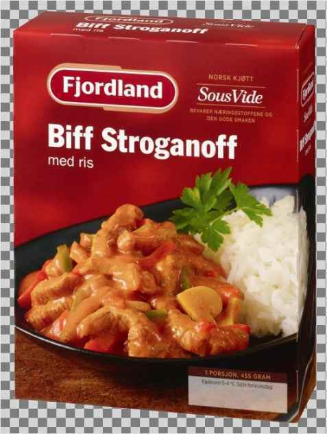 Bilde av Fjordland Biff Stroganoff med ris.