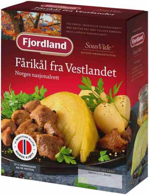 Bilde av Fjordland Fårikål med poteter.