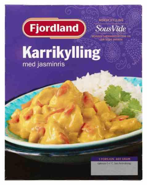 Bilde av Fjordland Karrikylling med ris.