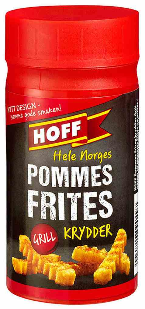 Bilde av Hoff Pommes Frites-/Grillkrydder.