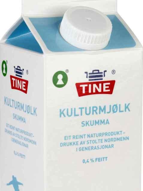 Bilde av Syrnet melk, Skumma Kulturmjølk.