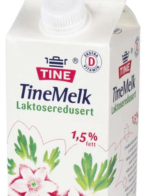 Bilde av Lettmelk, 1,2 % fett, laktoseredusert.