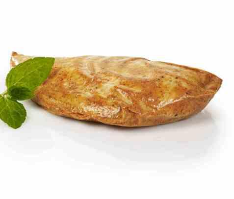 Bilde av Kylling, filet, stekt i fett.