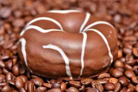 Bilde av Donuts, med sjokoladeglasur, kjøpt.