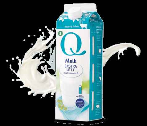 Bilde av Q melk lett 0,5%.