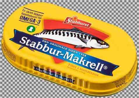 Bilde av Stabbur makrell.