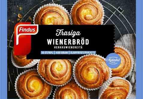 Bilde av Findus Wienerbrød.