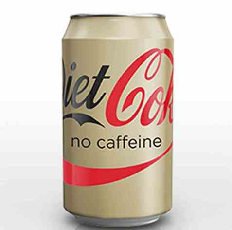 Bilde av Coca-Cola Light Caffeine Free.