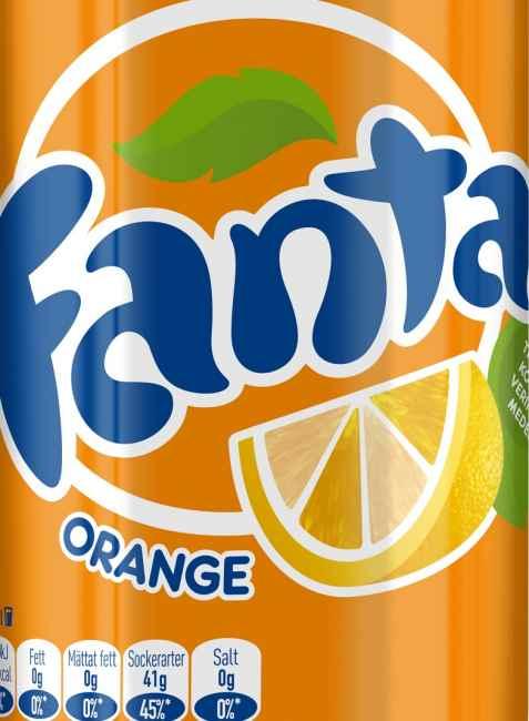 Bilde av Fanta Orange.