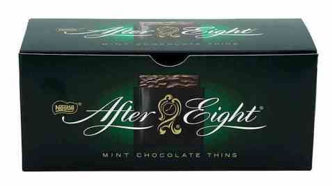 Bilde av After Eight Sjokolade.