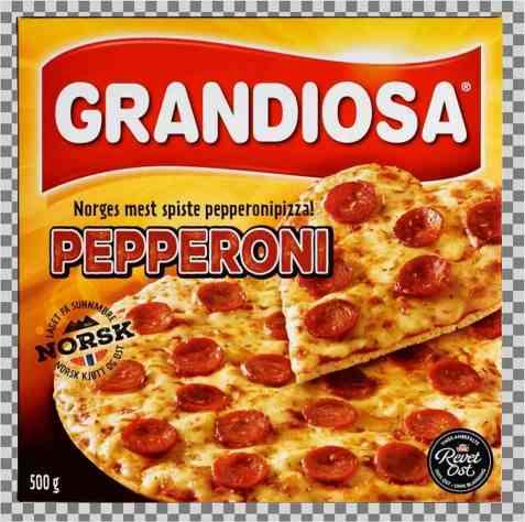 Bilde av Grandiosa Pepperoni.