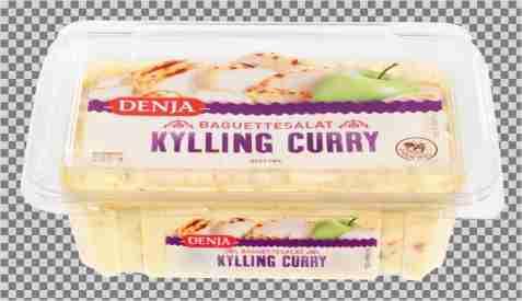 Bilde av Denja Baguettesalat Kylling curry.