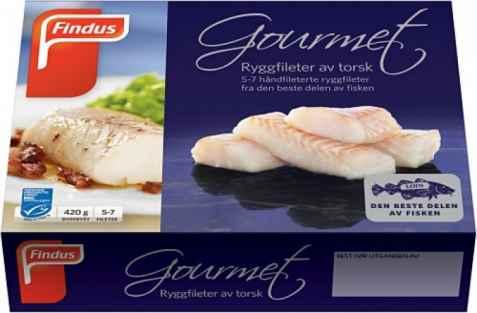 Bilde av Findus Torsk Gourmet.