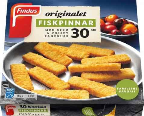 Bilde av Findus Fiskepinner 750 g.