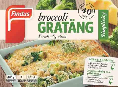 Bilde av Findus Broccoli Grateng.